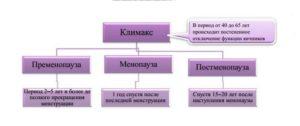 Фазы климакса