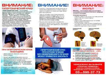 Гипертонический криз и инсульт