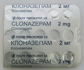 Таблетки клоназепама