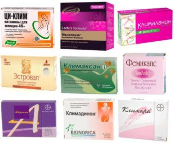 Таблетки при климаксе