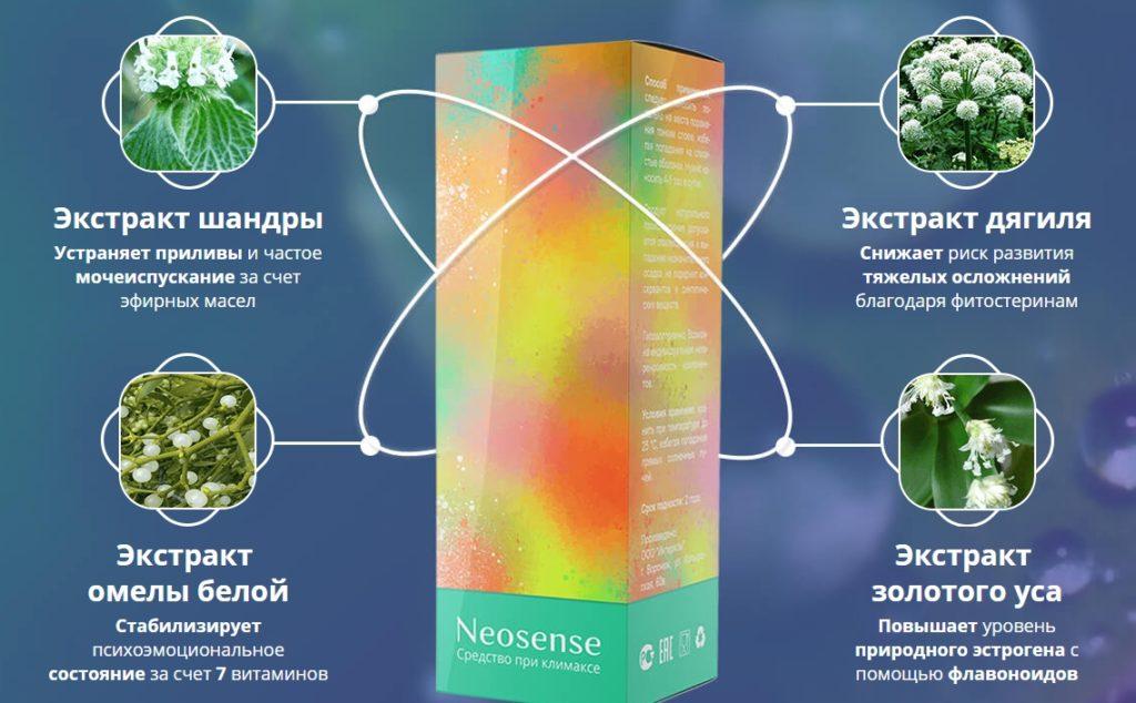 Neosense - от климакса в Уральске